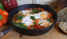 Shakshouka #Vegetarian comfort food http://www.selectps.com/index.php?main_page=product_info&cPath=2_33&products_id=546