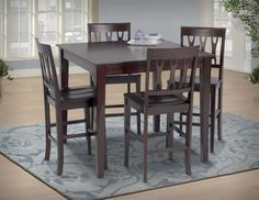 Lorcan Pub Set $399.99 Sku:144549 Dimensions:42Wx42Dx37H The Lorcan Collection makes a smart addition to any home. With an adaptable build and great looks, this collection seamlessly provides both function and style. This all-inclusive table makes a needful inclusion perfect for any atmosphere. Please visit our website for warranty and benefits.