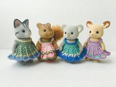 Custom Party Dress for Momma Calico Critter