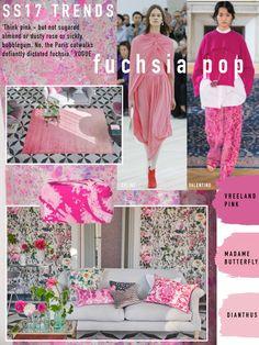 SS17 Trend: Fuchia Pop from Designers Guild