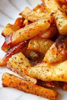 Papitas horneadas a la parmesana y ajo | Recetas faciles, Videos de Cocina | SaborContinental.com
