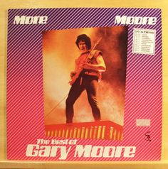 GARY MOORE - More Moore - The Best of -  mint minus minus - Vinyl LP - Top RARE