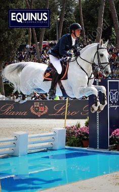 Show Jumping - Olivier Phillippaerts & Cabrio van de Heflinck of Belgium water jump