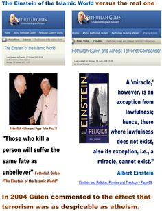 Those who kill a person will suffer the same fate as unbeliever  + Fethullah Gülen, The Einstein of the Islamic World.  ..  http://www.todayszaman.com/newsDetail_getNewsById.action?load=detay=7337