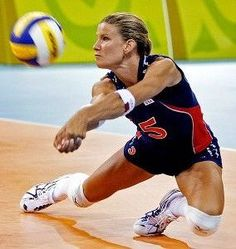 Stacy Sykora women's volly ball | 2021-06-07