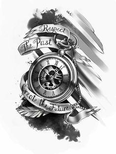 tattoo designs men & tattoo designs & tattoo designs men & tattoo designs for women & tattoo designs unique & tattoo designs men forearm & tattoo designs men sleeve & tattoo designs men arm & tattoo designs drawings Custom Fake Tattoos, Custom Tattoo, Unique Tattoo Designs, Tattoo Sleeve Designs, Clock Tattoo Sleeve, Unique Tattoos For Men, Clock Tattoos, Meaningful Tattoos For Guys, Sleeve Tattoo Men