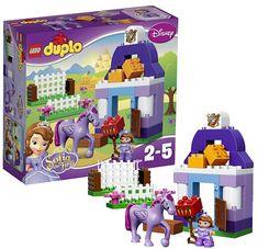 Lego duplo 10594 софия прекрасная: королевская конюшня