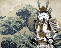 Samurai Stormtrooper Art by Alessandro Uggeri — GeekTyrant
