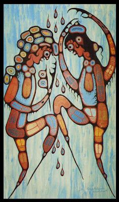 Red Lake Woodland Arts Festival: A Tribute to Norval Morrisseau and the Woodland Artists in 27 DAYS! Fun Projects For Kids, Art Projects, Red Lake, Woodland Art, Indigenous Art, Dancing In The Rain, Canadian Artists, Global Art, Aboriginal Art