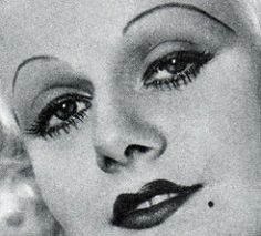 Jean Harlow Make-up | by thefoxling