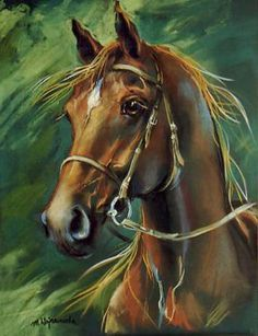 pintura pastel cavalo ? fiz ?