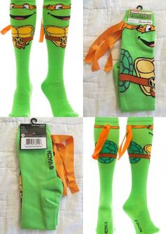 Up for sale is a pair of socks identical to the ones pictured. ADULT U.S. Socks Size 9-11 and Shoe Size 5-10. Ages 14+. They are brand new and never worn. Made of 68% Acrylic 30% Polyester and 2% Span