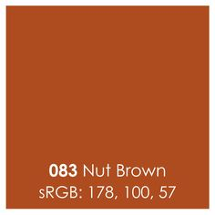 Oracal 631 Matte Vinyl Sheets 12 Inch x 12 Inch - Nut Brown