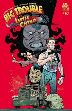 Big Trouble in Little China #10 Review