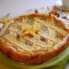 Easter Grain Pie - Allrecipes.com