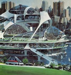 Cities of the Future, Imagined By The Artist Who... | Art Listings Professional #Expo2015 #Milan #WorldsFair