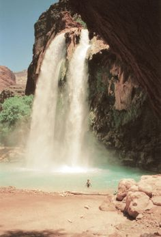 I remember hearing about a secret lush oasis in the Grand Canyon that only the natives knew of...