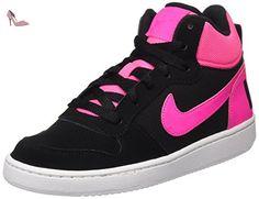quality design 72010 b67f1 Nike Court Borough, Chaussures de Sport-Basketball Fille: Amazon.fr:  Chaussures et Sacs