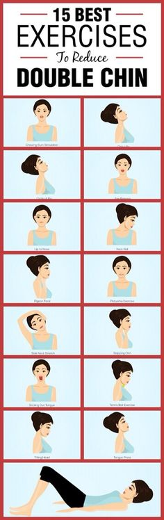 15 Best Exercises To Reduce Double Chin!#Health&Fitness#Trusper#Tip