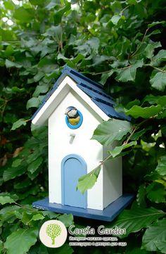 Скворечник декоративный Esschert Design.Оригинальный декоративный скворечник для птиц привлечет в сад пернатых друзей, а также станет настоящим украшением для сада.