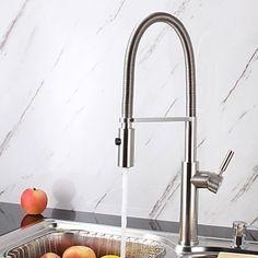 küchenarmatur spültisch armatur gastro spiralfeder brause ... - Wasserhahn Für Küche