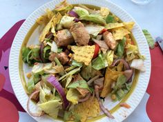 Tacosalat Tex Mex, Tacos, Mexican, Ethnic Recipes, Food, Meal, Essen, Hoods, Meals