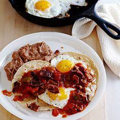 16 easy camping breakfasts   Huevos Rancheros con Bacon   Sunset.com
