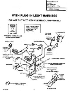 Meyer Snow Plow Headlight Wiring Diagram from i.pinimg.com