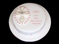 Pat-a-Cake Parties: Communion Cake