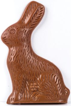 You'll love this solid milk chocolate bunny! A great addition to any Easter basket. 71/2 high- solid.