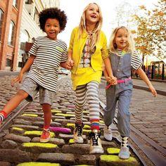 Mixed patterns - Kid's fashion
