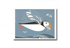 Charley Harper - The Name is Puffin