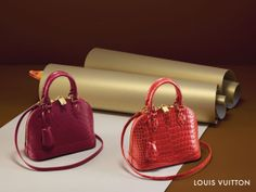 The small things count this holiday season, especially finishing an outfit with the Alma BB from Louis Vuitton.