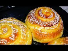 بريوش المخابز🌙 بكريمة الحلواني والشكولا لصحور خفيف كا القطن وذوق رووعة وبدون دلك ولا اي مجهود - YouTube Beignets, Bread Dough Recipe, Cabbage Rolls, Croissant, Pain, Ramadan, Doughnut, Cookie Recipes, Food And Drink
