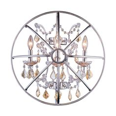 Shop Elegant Lighting 1130W21 Urban 3 Light Wall Lamp At ATG Stores. Browse  Our