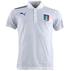 55cb4ae7237a3 Puma - Italia Polo Ufficiale Bianca 2012