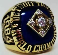 1984 championship ring Hopefully a ring from 2013 will join it soon