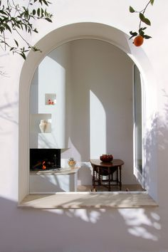 NAUTA Architecture & Research | Exercise With The Arches N˚1, Avetrana, Italy; arch window, deep reveal