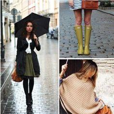Mantén el estilo hasta en los días lluviosos ;) #revista #revistainkomoda #estilo #moda #clima #fashion #atuendo