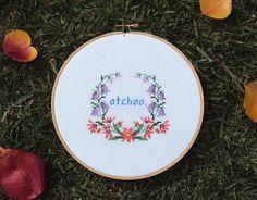atchoo! by crafty & devious, via Flickr