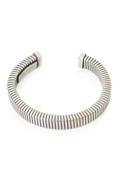 Shop Isabel Marant Silver Clarke Flat Link Bracelet at Moda Operandi