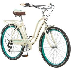 "$149.99 26"" Schwinn Fairhaven Women's Cruiser Bike, Cream.  Walmart.com"