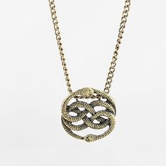 Unique Winding Snakes Pendant- It's the Orin from The Neverending Story! LOL $4.13