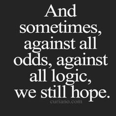 Like many we've all faced hard times and we have survived!