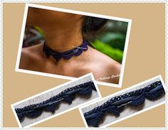 Sweet Nothings Crochet beautiful crochet choker 3
