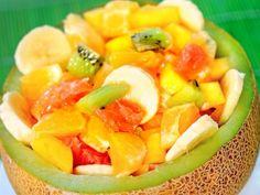 Receta de Ensalada de Frutas Tropicales
