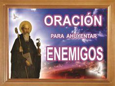 ORACIÓN PARA AHUYENTAR ENEMIGOS - INTERCESIÓN DE SAN BENITO - ESOTERISMO...