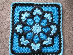 Ravelry: JulieAnny's Stained Glass Afghan Square by Julie Yeager