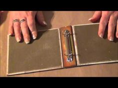 Tim Holtz Binder Ring Mini Part 2.wmv