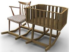 cuna Outdoor Chairs, Outdoor Furniture, Outdoor Decor, Bassinet, Woodworking, Bed, Home Decor, Nursery, Google